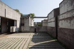 Brion Cemetery - Courtyard